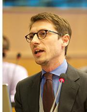 Jeronim Capaldo at the EU Parliament
