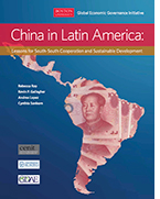 China in Latin America: Lessons for South-South Cooperation and Sustainable Development