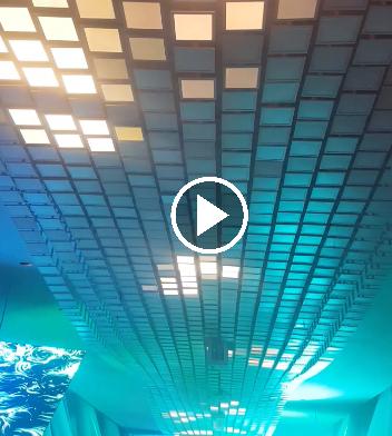 Dubai Frame Light Tiles Video