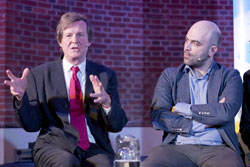 David Hare and Roberto Saviano
