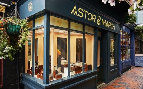 Astor & March Shop Front