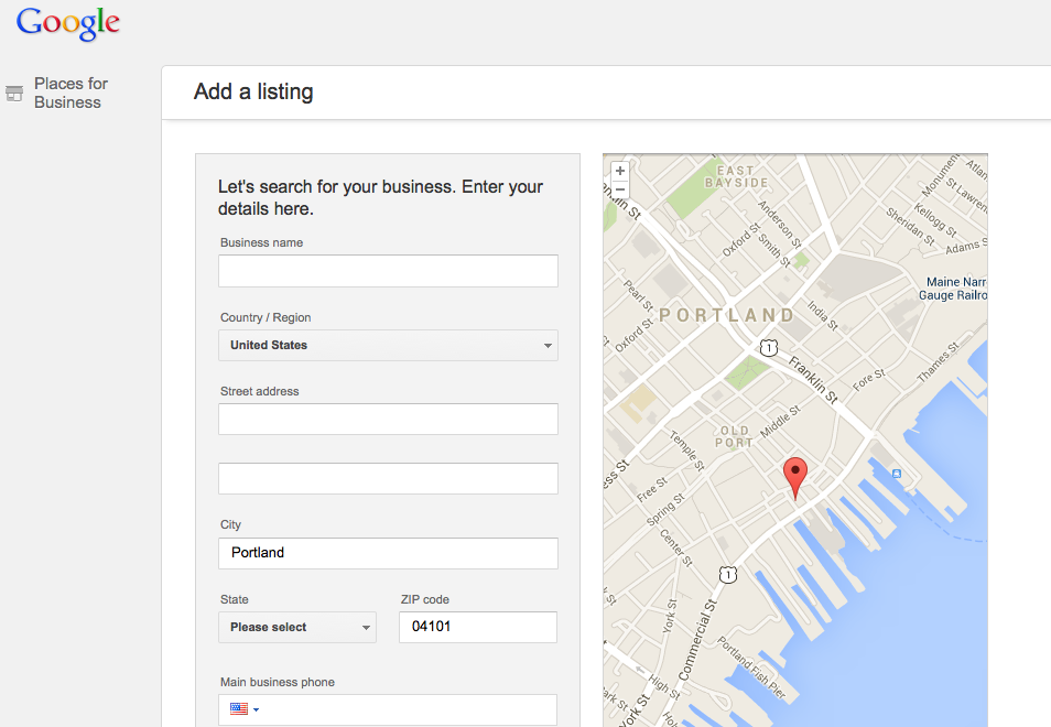 Customize your listing