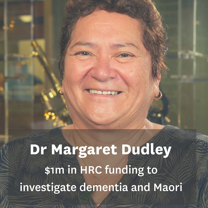 Dr Margaret Dudley: Addressing the critical lack of research into Maori and dementia