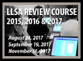 LLSA Review Course - Aug 24; Sept 19; Nov 16