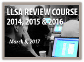 LLSA Review Course - March 15