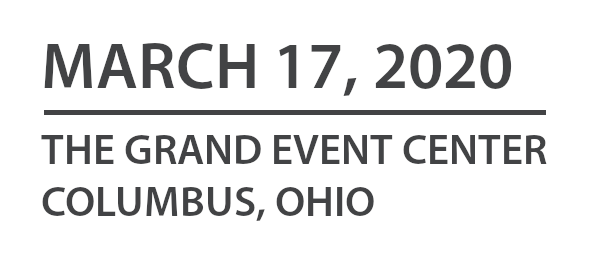 March 17, 2020 | The Grand Event Center | Columbus, Ohio