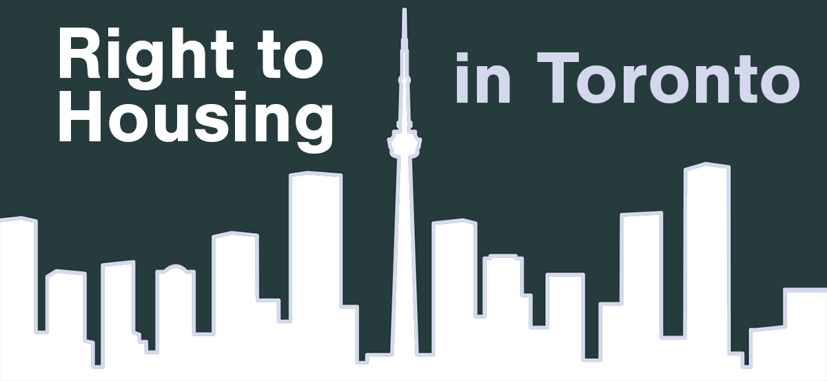 Right to Housing in Toronto