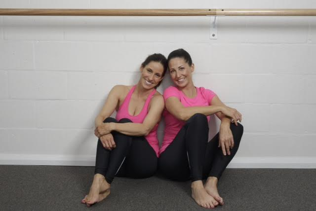 Becky Dyer and Jackie Steele