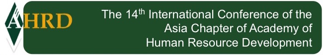 Call For Papers - 14th Conference Asia Chapter of AHRD - 30 days to submission!