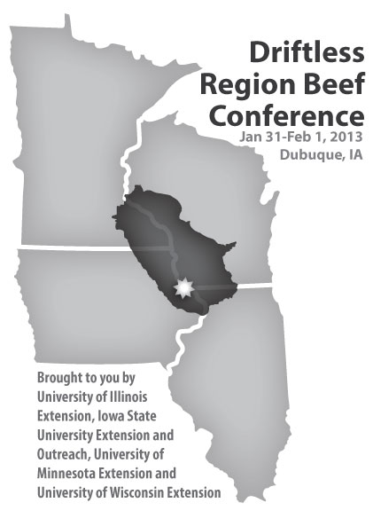 Driftless Beef Conference logo