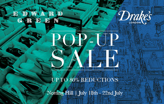 Pop-up Sale - Notting Hill