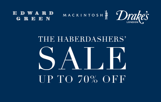 The Haberdashers' sale - up to 70% off