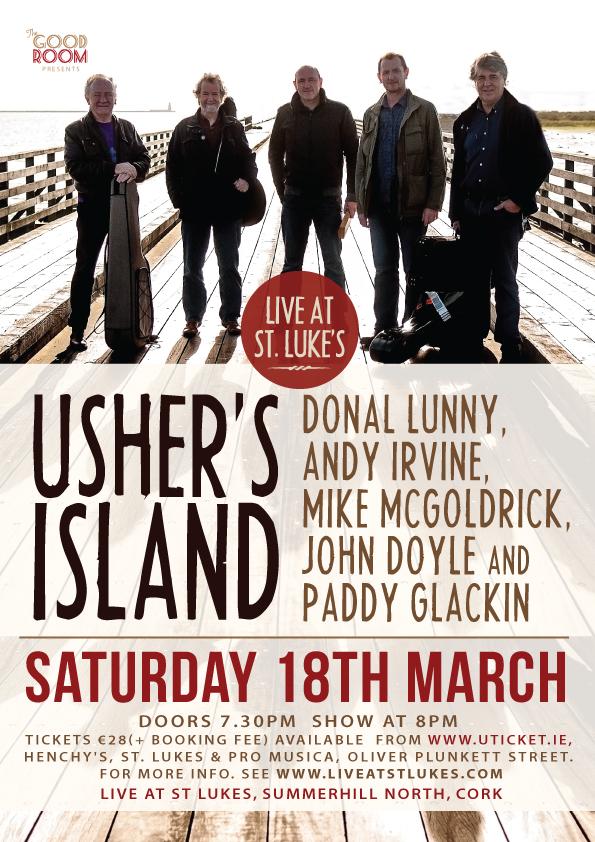 Usher's Island - Live At St. Luke's, Cork