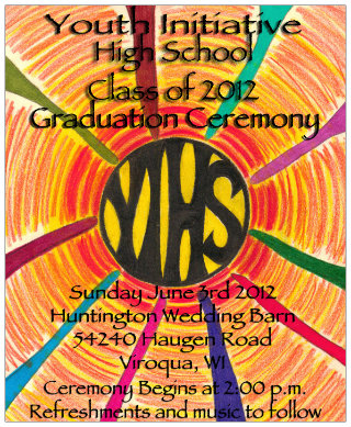 YIHS Graduation, Sunday June 3, 2012, 2PM