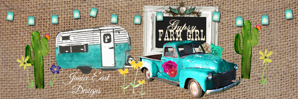 Gypsy Farm Girl and Janice East Designs