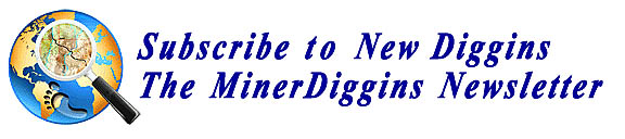 Subscribe to New Diggins The MinerDiggins Newsletter
