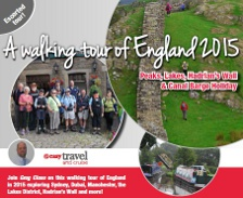 A Walking Tour of England 2014