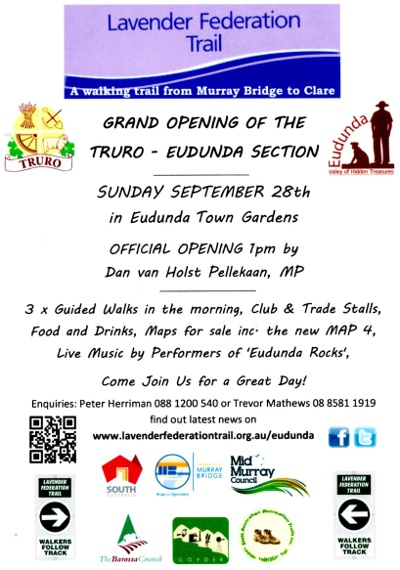 Eudunda Opening 28th Sept 2014