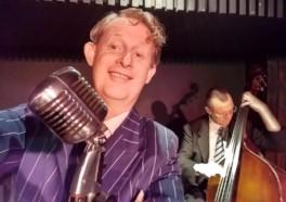 Greg Poppleton 1920s jazz band singer