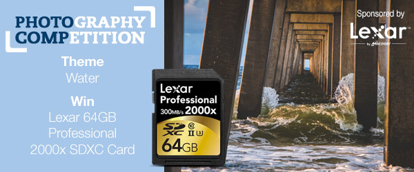 Enter our Photography Competition to win 1 of 10 Lexar 64GB Professional 2000x SDXC Cards