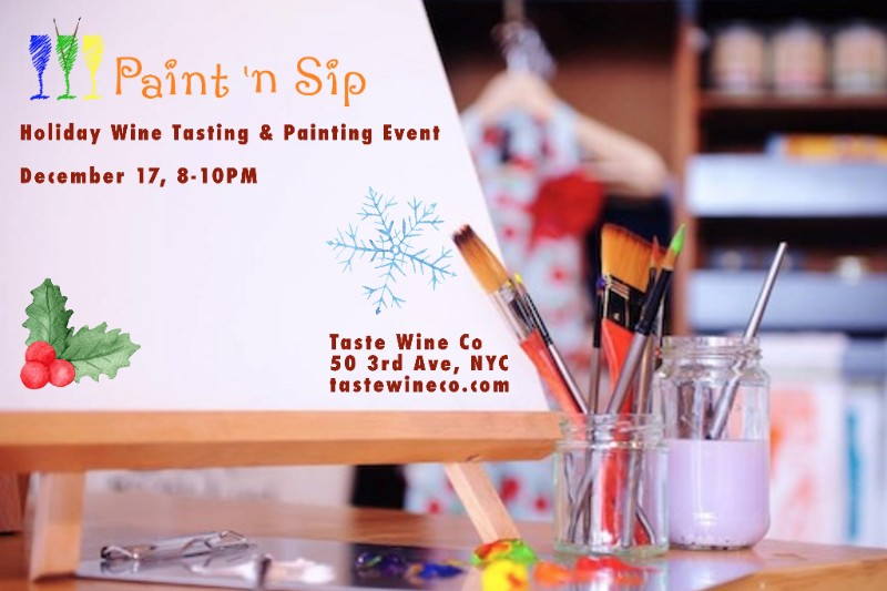 TWC Holiday Paint and sip