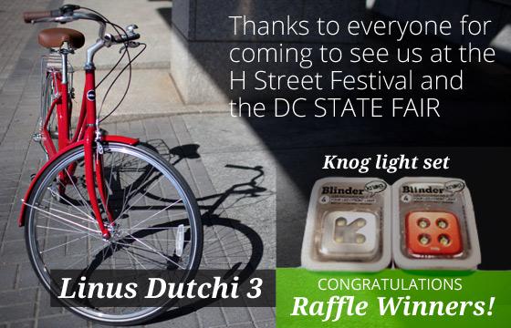 H Street Festival and DC State Fair Raffle Winners