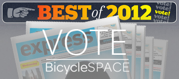 Vote for BicycleSPACE in the Washington Express Best