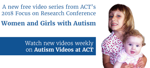 Women and Girls with Autism video series