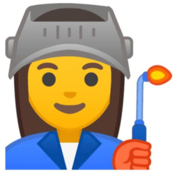 Example of new Google emoji