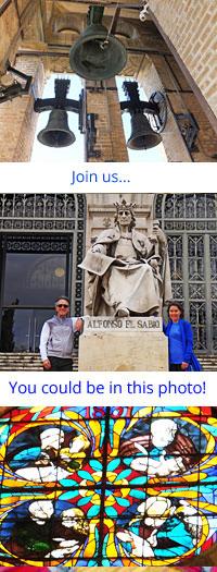 Sacred Sights on Spanish Pilgrimage with Ananda Travels