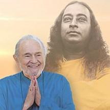Paramhansa Yogananda with Instrument - Expanding Light Retreat- California