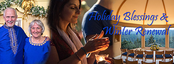 Holiday Retreats at The Expanding Light Retreat