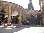 The Old Gate of Jerusalem City during the Holy Land Pilgrimage with Ananda Travels