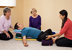 Restorative Yoga Teacher Training at The Expanding Light