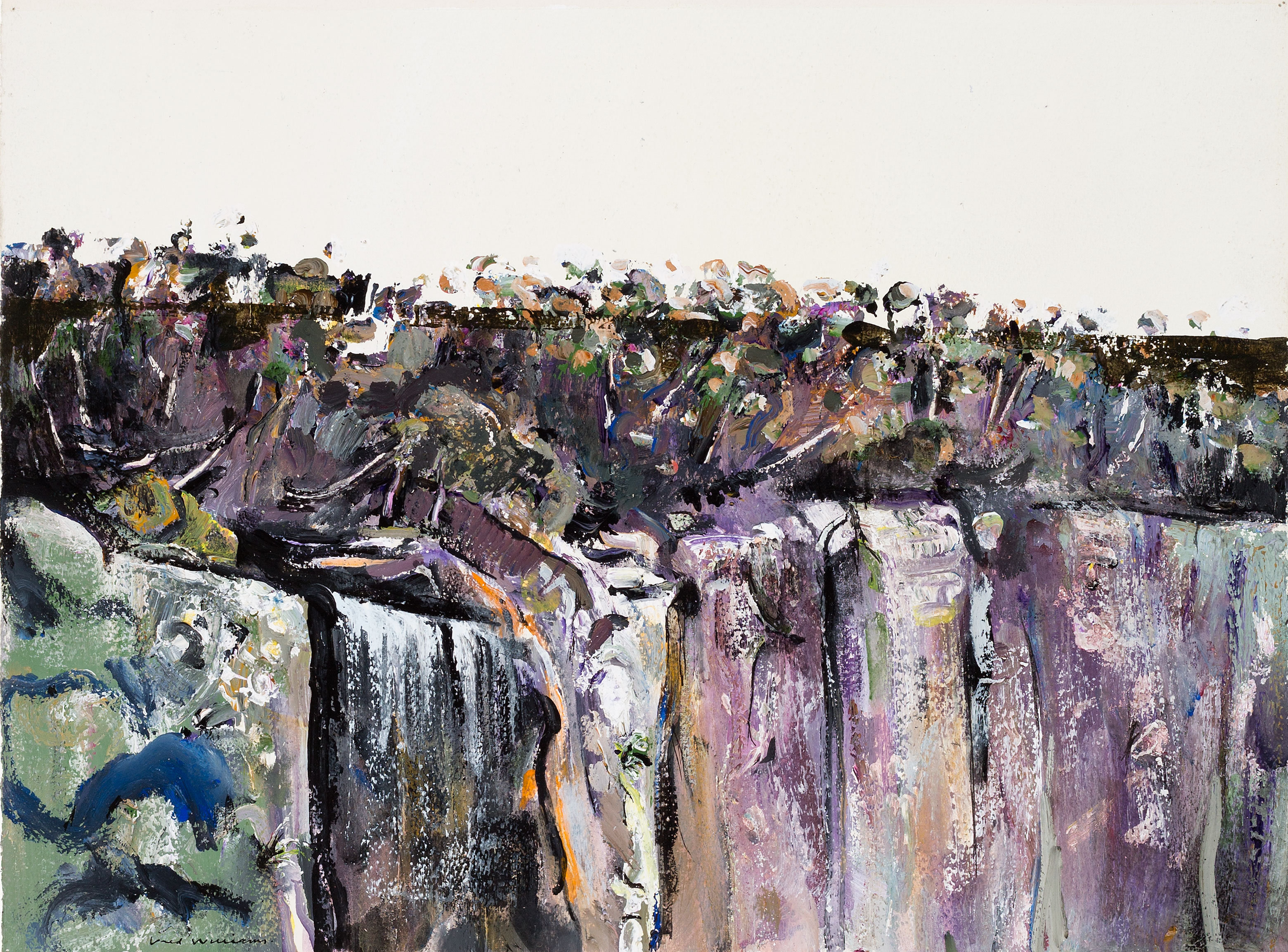 Albert Tucker and Fred Williams: The Springbrook Landscapes