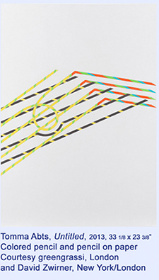 Tomma Abts at David Zwirner