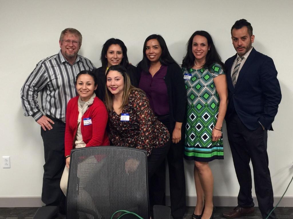 Dave O'Neal with the START El Paso team (Top Row, L-R: Dave, Angie Garcia, Yvette Marquez, Erica Thomas, David Puentes. Bottom: Kristal Garcia, Elyana Martinez)