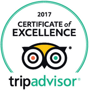 trip advisor certificate of excellence 2017 umthunzi hotel and conference