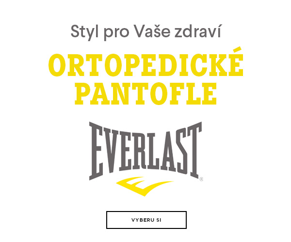 Ortopedické pantofle Everlast