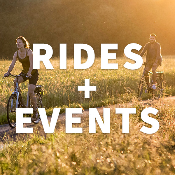 Upcoming Rides + Events!