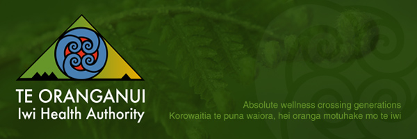 Te Oranganui Iwi health Authority - sign up for newsletters