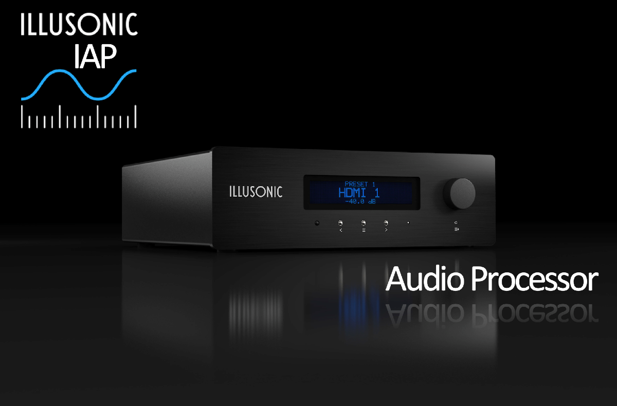 Illusonic IAP Audio Processor Preamp DAC Phono Sound Optimization