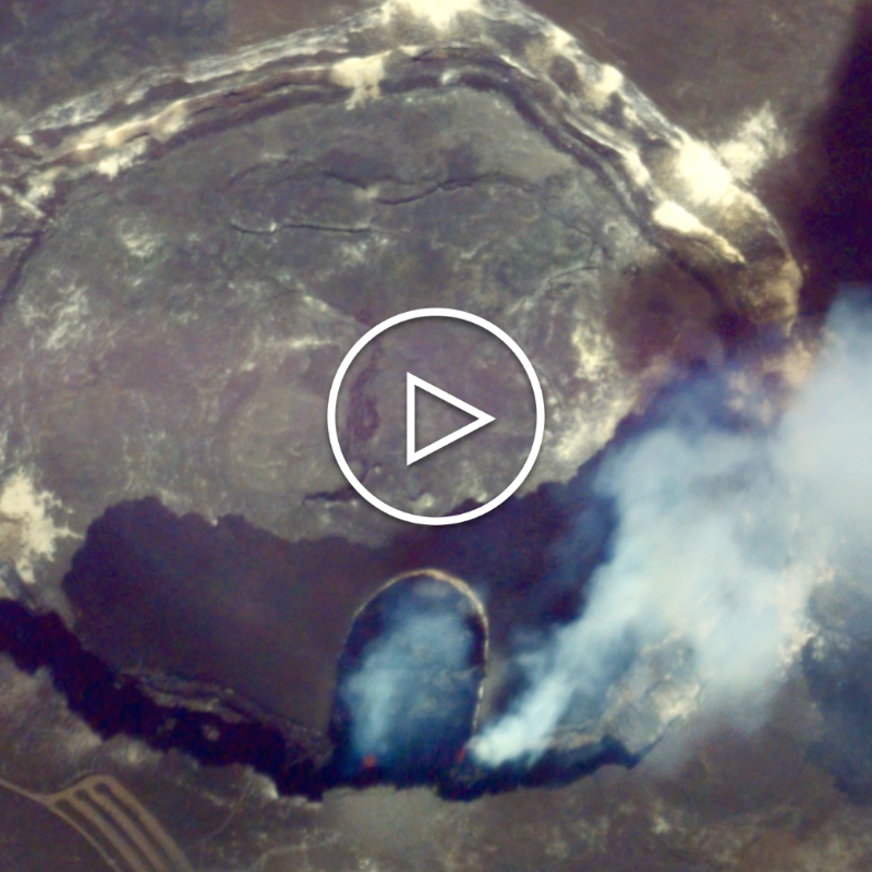 Watch a Volcanic Eruption, from Space