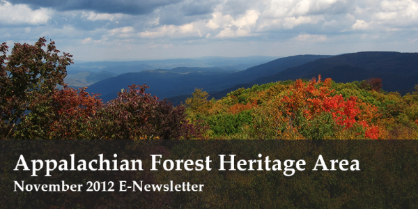 Appalachian Forest Heritage Area: Nov E-Newsletter