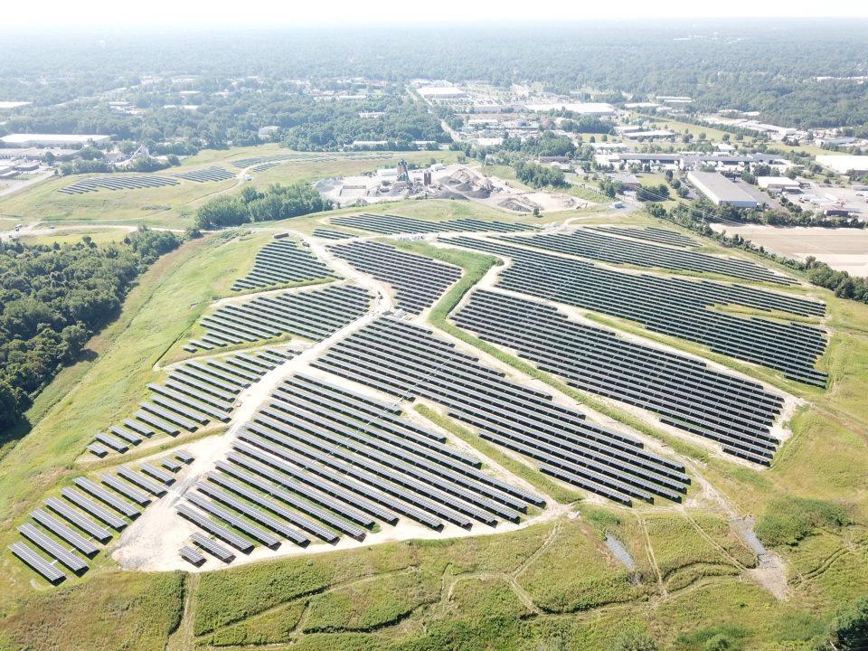 Cinnaminson Solar Field