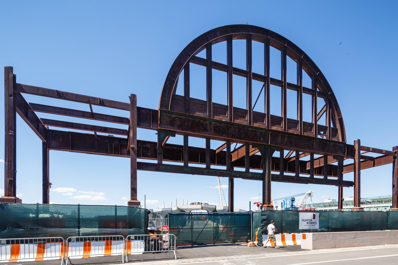 Pier 55 Historic Steel Arch