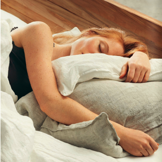 Actie slaapcomfort