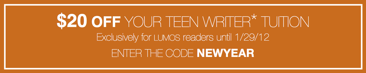 $20 Off your Teen Writer Tuition with Code: NEWYEAR