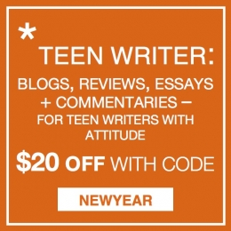 $20 Off February's Teen Writer with Code: NEWYEAR