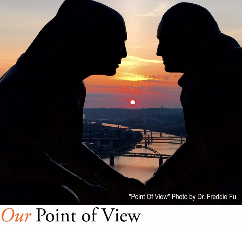 Point Of View Photo by Dr. Freddie Fu